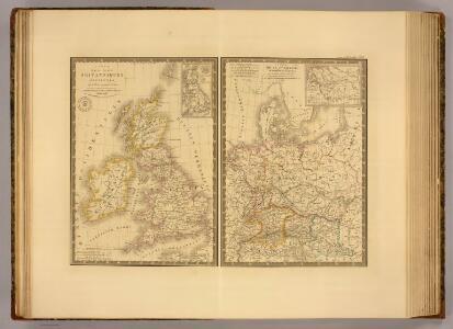 Iles Britanniques ancienne, Germanie, de la Rhetie, du Norique, etc.