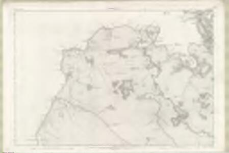 Ross and Cromarty Sheet LVI - OS 6 Inch map