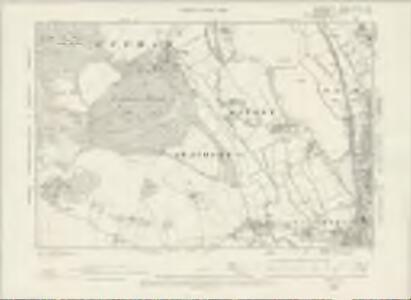 Oxfordshire XXXIII.SW - OS Six-Inch Map