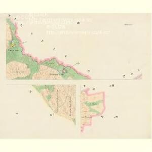 Mellhut (Lhota) - c2558-2-001 - Kaiserpflichtexemplar der Landkarten des stabilen Katasters