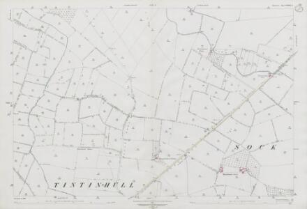 Somerset LXXXII.3 (includes: Ash; Ilchester; Sock Dennis; Tintinhull) - 25 Inch Map