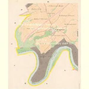 Przisnitz - c6247-1-008 - Kaiserpflichtexemplar der Landkarten des stabilen Katasters
