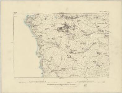 Cornwall XXX.SW - OS Six-Inch Map