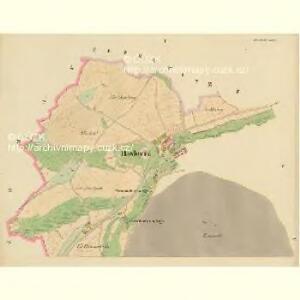 Hawlowitz (Hawlowice) - c1798-1-001 - Kaiserpflichtexemplar der Landkarten des stabilen Katasters
