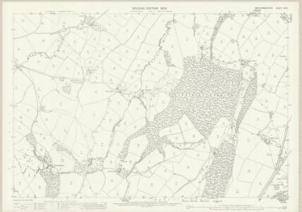 Montgomeryshire XV.16 (includes: Guilsfield; Welshpool) - 25 Inch Map