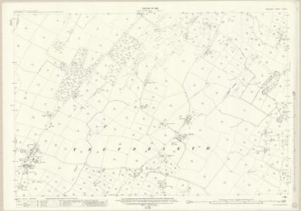 Anglesey XVIII.13 (includes: Aberffro; Llangristiolus; Trefdraeth) - 25 Inch Map