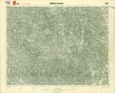 III. vojenské mapování 4249