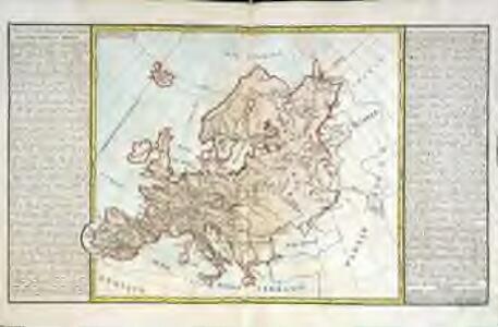 Lacs, fleuves, rivières et principales montagnes d'Europe