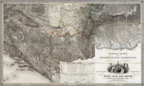 Composite XIII, XIV, XV, XVIII, XIX, XX: Karte Des Oesterreichischen Kaiserstaates.
