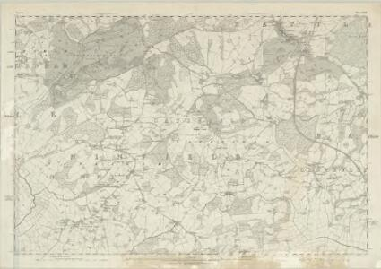 Sussex LVII - OS Six-Inch Map