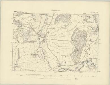 Shropshire LXX.SE - OS Six-Inch Map