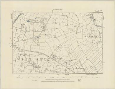 Shropshire XX.SE - OS Six-Inch Map