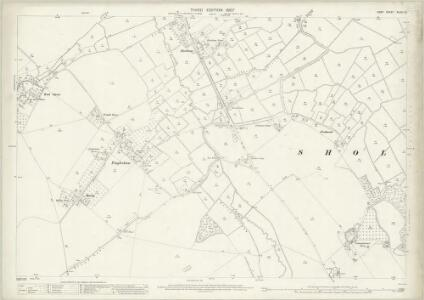 Kent XLVIII.15 (includes: Northbourne; Sholden; Worth) - 25 Inch Map