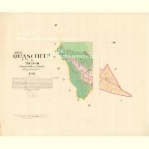 Quaschitz I.Theil - m1449-1-002 - Kaiserpflichtexemplar der Landkarten des stabilen Katasters