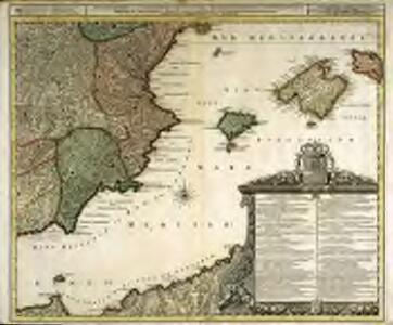 Accuratissima et nunc novissimè revisa correctaque tabula regnorum, Valentiæ et Murciæ, insularum Majorcæ, Minorcæ et Jvicæ