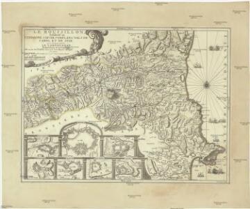 Le Roussillon, subdivisé en Serdagne, Capsir, Conflans, Vals de Carol et de Spir ou se trouve encore le Lampourdan, faisant partie de la Catalogne