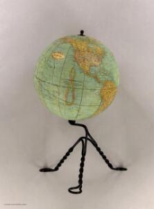 Rand, McNally & Co's New Eight-Inch Terrestrial Globe.