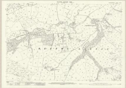 Cardiganshire XXVI.6 (includes: Betws Leucu; Gartheli; Gwynfil; Llangeitho; Nancwnlle) - 25 Inch Map