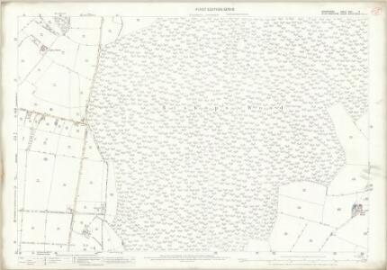 Shropshire XVII.9 (includes: Adbaston; Cheswardine; Eccleshall) - 25 Inch Map