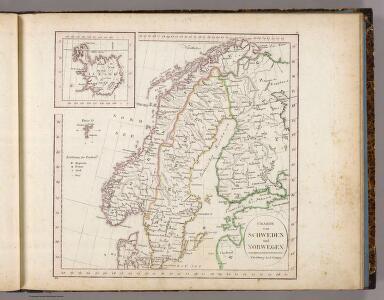 Schweden, Norwegen, Island.