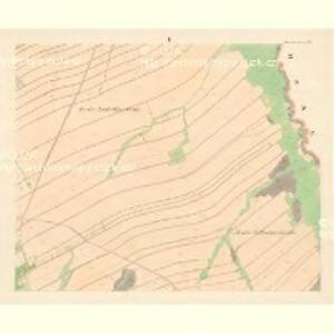 Partschendorf (Bartossowice) - m0035-1-005 - Kaiserpflichtexemplar der Landkarten des stabilen Katasters