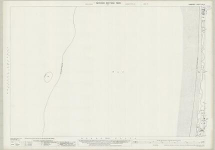 Somerset XVI.10 (includes: Brean) - 25 Inch Map