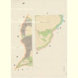 Kapschowitz - c2466-1-004 - Kaiserpflichtexemplar der Landkarten des stabilen Katasters