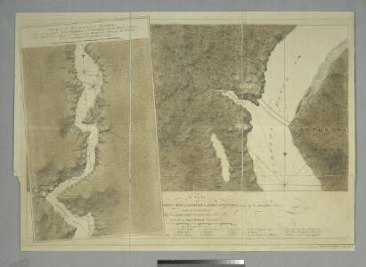 A plan of Fort Montgomery & Fort Clinton, taken by His Majesty's forces, under the command of Maj. Genl. Sir Henry Clinton, K.B. / survey'd by Major Holland, Survr. Genl. &c.