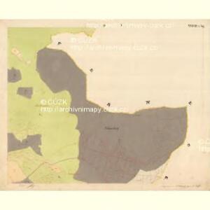 Glöckelberg - c9317-3-005 - Kaiserpflichtexemplar der Landkarten des stabilen Katasters