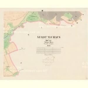 Neuhaus - c2914-1-007 - Kaiserpflichtexemplar der Landkarten des stabilen Katasters