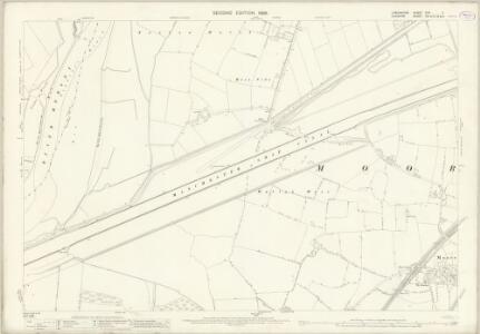 Lancashire CXV.11 (includes: Cuerdley; Daresbury; Moore; Norton; Penketh) - 25 Inch Map