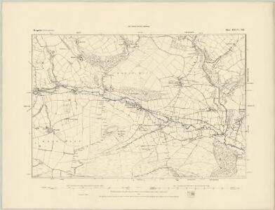 Shropshire LXXVI.NW - OS Six-Inch Map