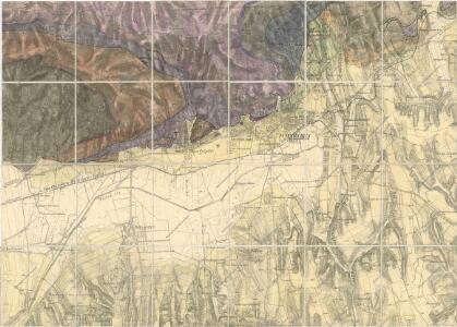 Geologische Karte von Dr. Vadász (Nr. 3, Nr.5)
