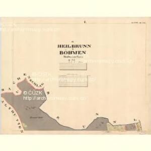 Heilbeunn - c1948-1-001 - Kaiserpflichtexemplar der Landkarten des stabilen Katasters