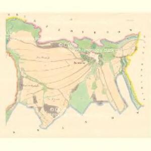 Kosow - m1324-1-002 - Kaiserpflichtexemplar der Landkarten des stabilen Katasters