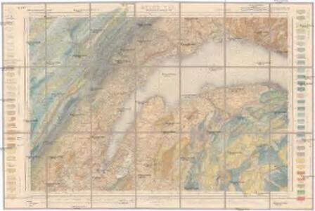 Carte géologique de la Suisse