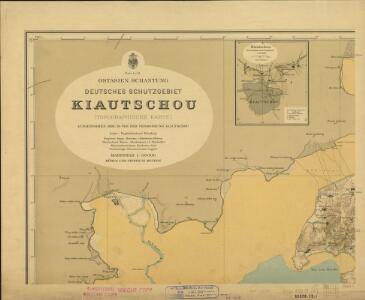 Ostasien. Schantung. Deutsches Schutzgebiet. Kiautschou (Sheet 1)