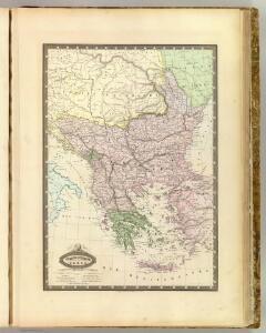 Turquie d'Europe, Grece &c.