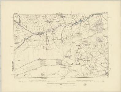 Derbyshire IX.NW - OS Six-Inch Map