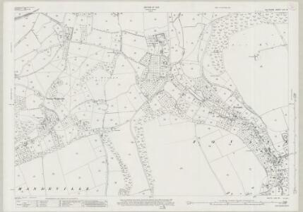 Wiltshire LXV.13 (includes: Fovant; Sutton Mandeville; Tisbury) - 25 Inch Map