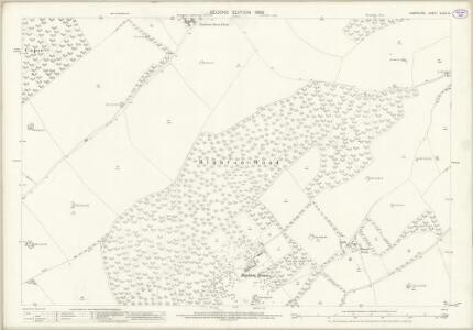 Hampshire and Isle of Wight XXXIV.15 (includes: Bighton; Old Alresford) - 25 Inch Map