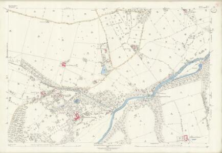 Herefordshire III.5 (includes: Bromfield; Burrington; Downton; Leintwardine) - 25 Inch Map
