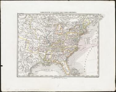 Vereinigte Staaten von Nord Amerika, ohne das West Gebiet der Union