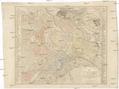 Plan der kais. königl. Haupt- und Residenzstadt Wien mit allen Vorstädten