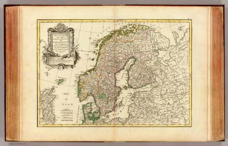 Suede, Danemarck et Norwege.