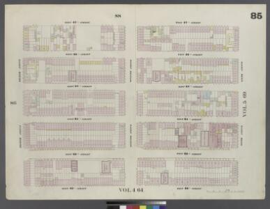 Plate 85: Map bounded by West 27th Street, Sixth Avenue, West 22nd Street, Eighth Avenue