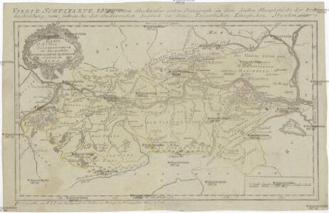 Karte von Niederoestreich oder dem eigentlichen Erzherzogthume Oestreich ob und unter der Enns