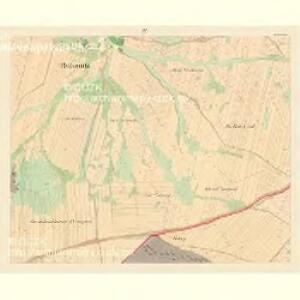 Bohonitz - c0319-1-004 - Kaiserpflichtexemplar der Landkarten des stabilen Katasters