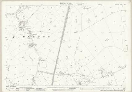 Cheshire XXII.2 (includes: Barnston; Brimstage; Gayton; Heswall cum Oldfield; Storeton; Thornton Hough) - 25 Inch Map