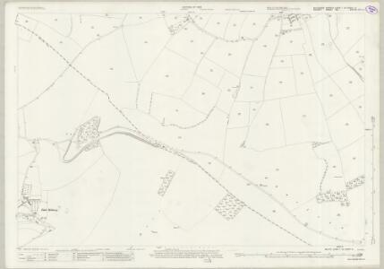 Wiltshire LXXIV.1 & LXXIVa.4 (includes: Cann; Donhead St Mary; Melbury Abbas; Shaftesbury) - 25 Inch Map